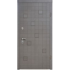 Входная дверь Berez -Каскад серый.