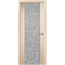 """Межкомнатная дверь  """"Милано-2 беленый дуб"""""""