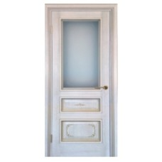 "Межкомнатная дверь  ""Алесандро песочная платина"""