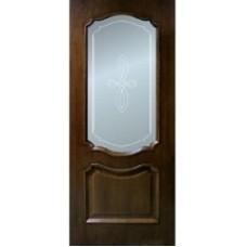 "Межкомнатная дверь  ""Кармен орех,дуб"""