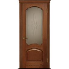 """Межкомнатная дверь  """"Модель 42-дуб браун"""""""