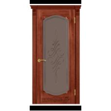 """Межкомнатная дверь  """"Модель 43-орех американский"""""""