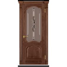 """Межкомнатная дверь  """"Модель 41-орех американский"""""""