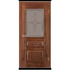 """Межкомнатная дверь  """"Модель 48-орех американский"""""""