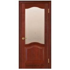 """Межкомнатная дверь  """"Модель 3 красное дерево"""""""
